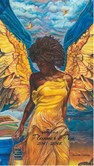 Angelic Guidance 2017 - 2018 African American Checkbook Cover Planner