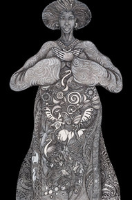 """""""Mother Earth"""" Limited Edition--Charles Bibbs"""