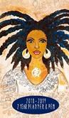 Nubian Queen 2018 - 2019 African American Checkbook Planner with Pen
