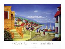 Island Colors Art Print - Enel Desir