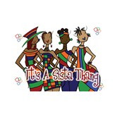 It's A Sista Thang Magnet --Kiwi McDowell
