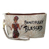 Beautfully Blessed Cosmetic Pouches