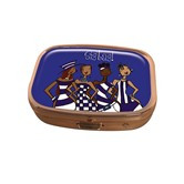 Blue Sistas! Pill Box Case-Kiwi McDowell