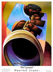 Mo Trumpet Art Print - Maurice Evans