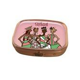 Pink Sistas! Pill Box Case --Kiwi McDowell