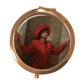 Blessed & Highly Favored Compact Mirror--Henry Battle