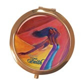 Walk By Faith Compact Mirror--Kerream Jones