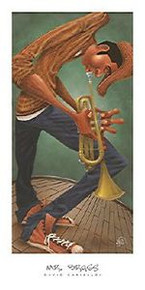 Mr. Brass (18 x 36) Art Print - David Garibaldi