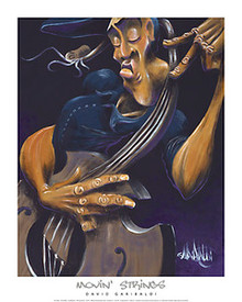 Movin' Strings Art Print - David Garibaldi
