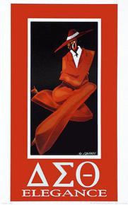 Delta Elegance Art Print - Kelly Jackson