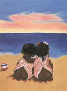 Heart to Heart Art Print - Jamilla