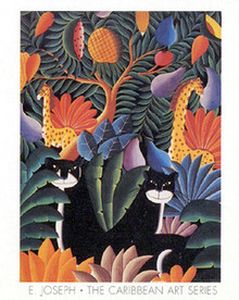 Panthers Art Print - Joseph
