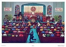 Revival Art Print - Melvin King