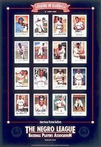 Negro League Baseball Legends Art Print - Lewis