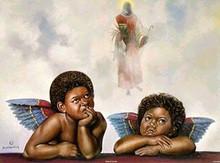Angels of the Lord Art Print - Hulis Mavruk