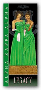 Legacy - Alpha Kappa Alpha Art Print - Johnny Myers