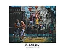 In Mid Air (28 x 22) Art Print - Lonnie Ollivierre