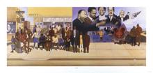 Bus Stop Art Print - Ernest Watson