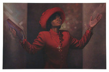 Blessed and Highly Favored (24 x 36) art print by Henry Lee Battle