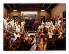 Old Time Religion Art Print - Ernest Watson