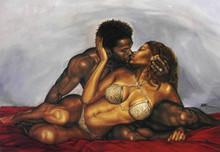 The Kiss Art Print Kevin A. Williams - WAK