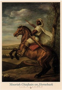 Moorish Chieftain Art Print - Tim Ashkar