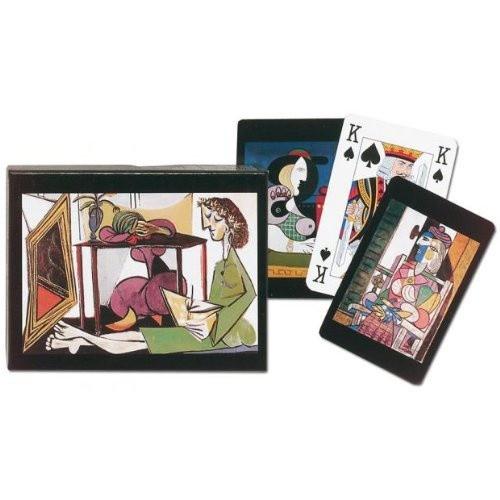 pablo picasso deux femmes playing cards double deck detroit institute of arts museum shop. Black Bedroom Furniture Sets. Home Design Ideas
