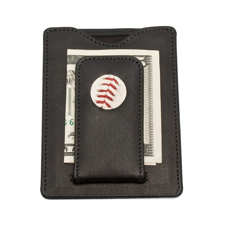 Detroit Tigers Game Ball Money Clip