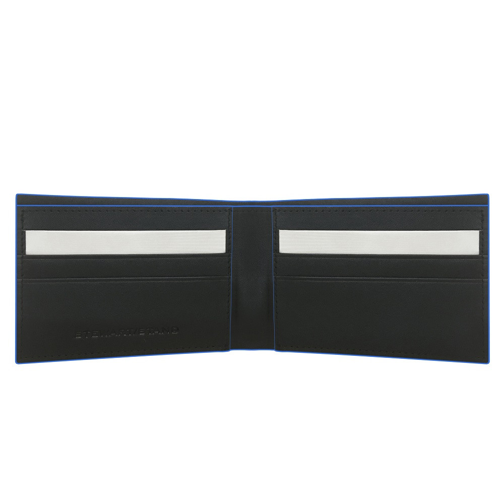 Slimfold Wallet with Cobalt Edge