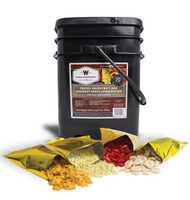 Wise Emergency Survival Freeze Dried Fruit Food Storage (120 Servings)