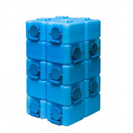 WaterBrick 3.5 Gallon (10 Pack, Blue)