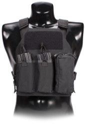"""FIRST ON"" Plate Carrier (Black)"