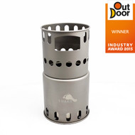 (Coming Soon) TOAKS TITANIUM Backpacking Wood Burning Stove