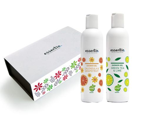 Body Care Gift Set- Green Tea + Calendula