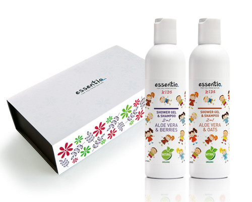 Kids Care Gift Set- Oats + Berries