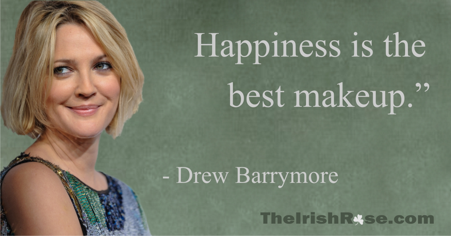 I love the very expose... Drew Barrymore