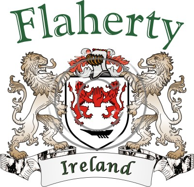 Flaherty Name History Coat Or Arms
