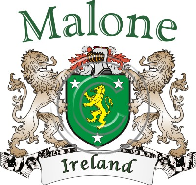Malone Name History & Coat of Arms