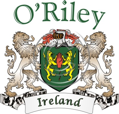 Oriley Name History Coat Of Arms