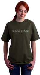 Slainte Tee Shirt in Summer Green