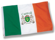 Irish Personalized Harp Ireland Flag - 3x5 | Irish Rose Gifts
