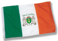 Personalized Harp Flag - 2x3 | Irish Rose Gifts