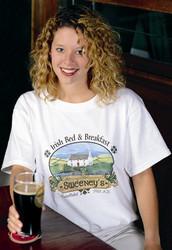 Personalized Irish Bed & Breakfast Tee Shirt | Irish Rose Gifts