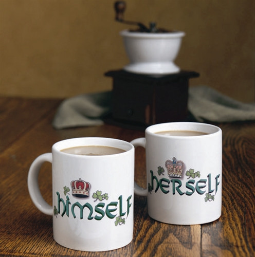Irish Himself and Herself Mug Gift Set | Irish Rose Gifts