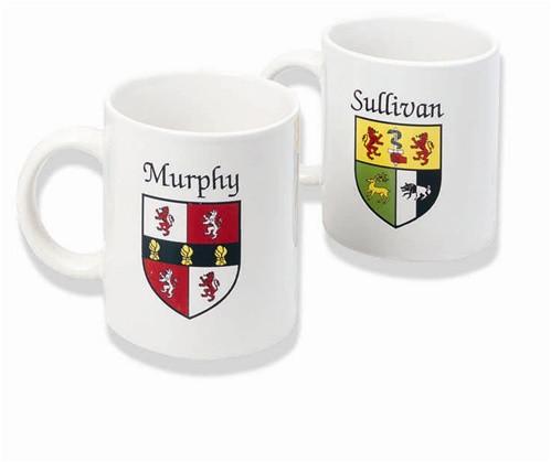 Irish Coat of Arms Mug (set of 2) | Irish Rose Gifts