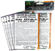 Republic Note Card Set ** MADE IN IRELAND **