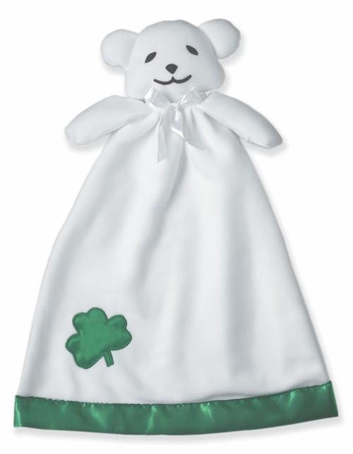 irish baby bear blankie