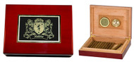 Irish Coat of Arms Cigar Humidor | Irish Rose Gifts