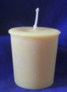 Solar Power Votive Candle *Soy Wax*