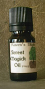 Forest Magick Magickal Oil Blend
